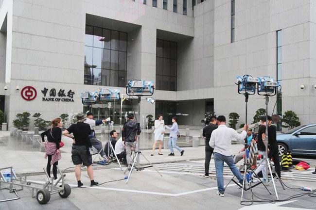 中国银行天津市分行拍摄花絮宣传片拍摄制作现场花絮